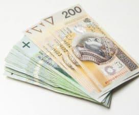 dużo banknotów