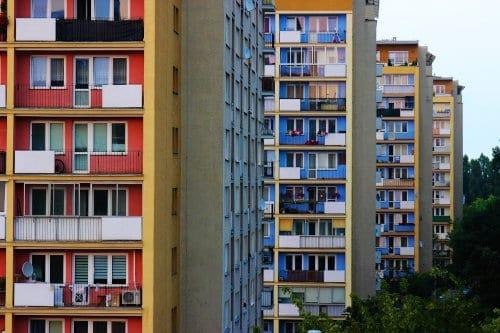 Bloki wieżowce