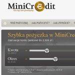 zrzut strony minicredit