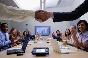 Porozumienie stron pomiędzy przedstawicielami firmy