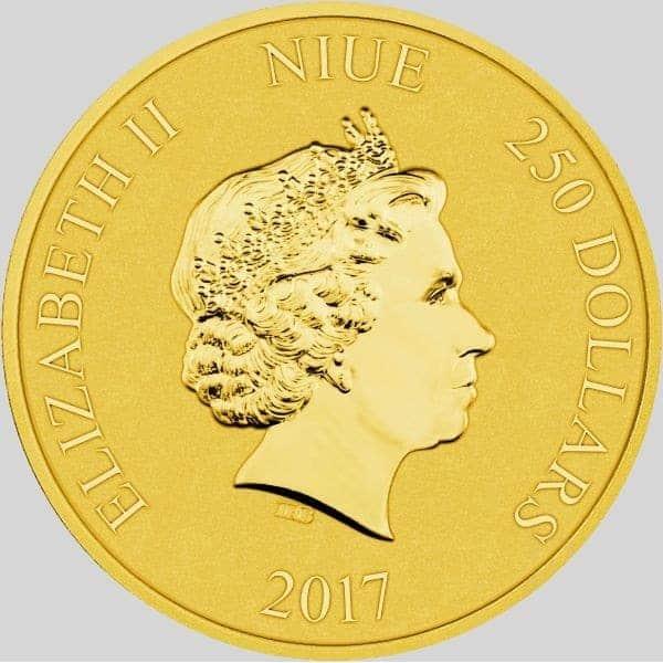 złota moneta