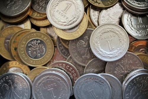 Polskie pieniądze monety