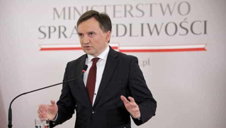 Minster Sprawiedliwości Zbigniew Ziobro