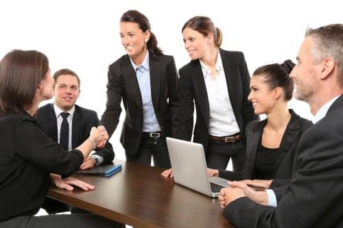 Spotkanie w biurze
