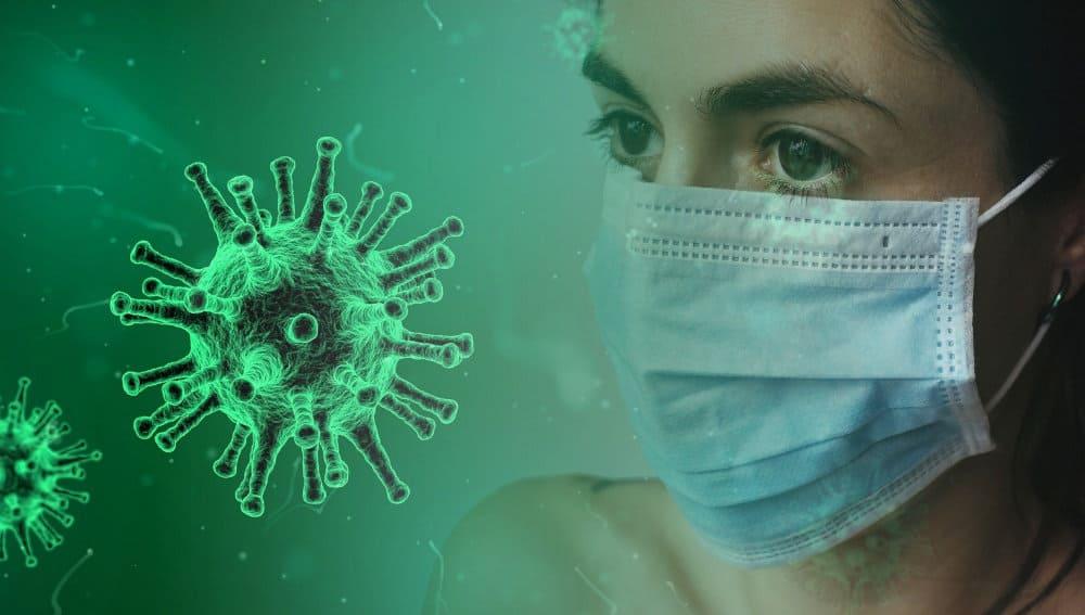 maseczka przeciw wirusowi